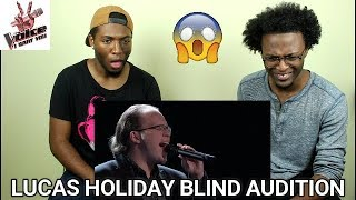 The Voice 2017 Blind Audition Lucas Holiday 34 This