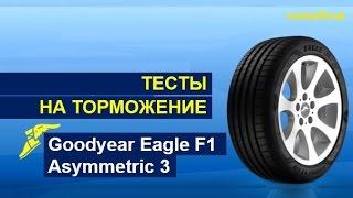 видео Шина Goodyear Eagle F1 Asymmetric 3 225/45 R18 95Y  (XL)(FP) в KOLOBOX Нижний Новгород