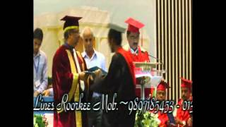 IIT Roorkee Convocation 2015 Part-IV