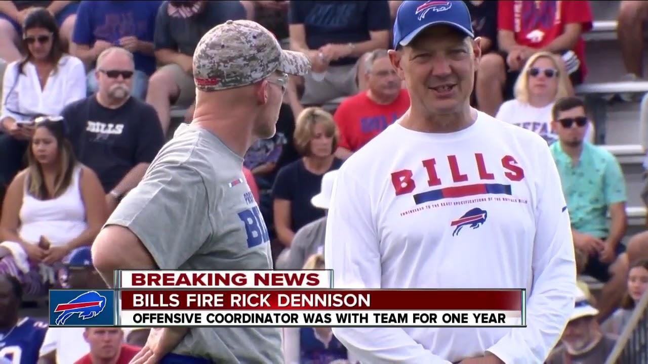 Bills fire Rick Dennison