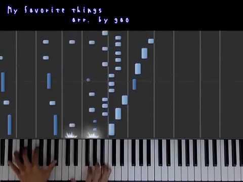 ピアノソロ  My Favorite Things