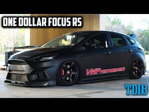 VMP Performance Focus RS Review - ONE DOLLAR Focus RS!