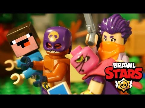 LEGO Brawl Stars and NOOB Minecraft - Stop Motion Animation