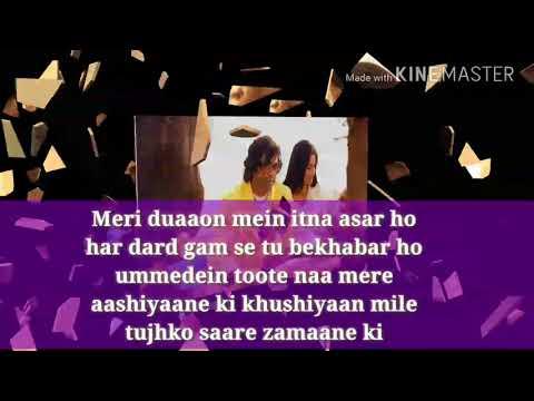 Apne toh apne hote hai HD karaoke with lyrics