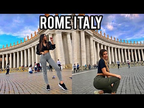 Roming around to Nightlife, Sites, People | Rome Italy Vlog