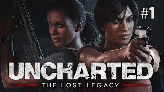 Twitch Livestream   Uncharted: The Lost Legacy Part 1 [PS4]