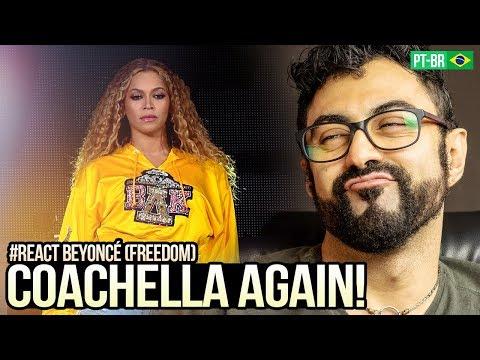 REAGINDO a Beyoncé - Freedom  COACHELLA 2018