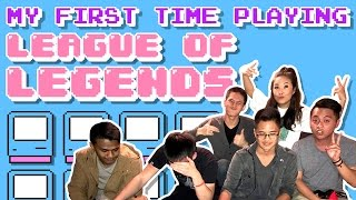 My First Time Playing LEAGUE OF LEGENDS!!! Feat. Niko and the Crew