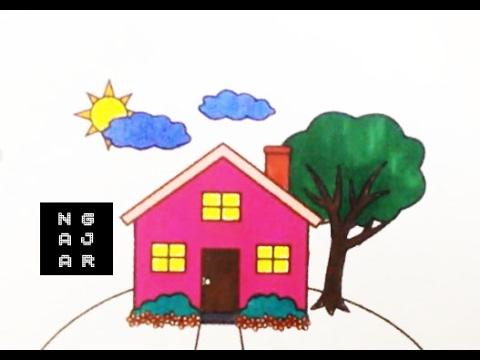 82+ Pola Gambar Rumah Anak Tk Gratis Terbaru