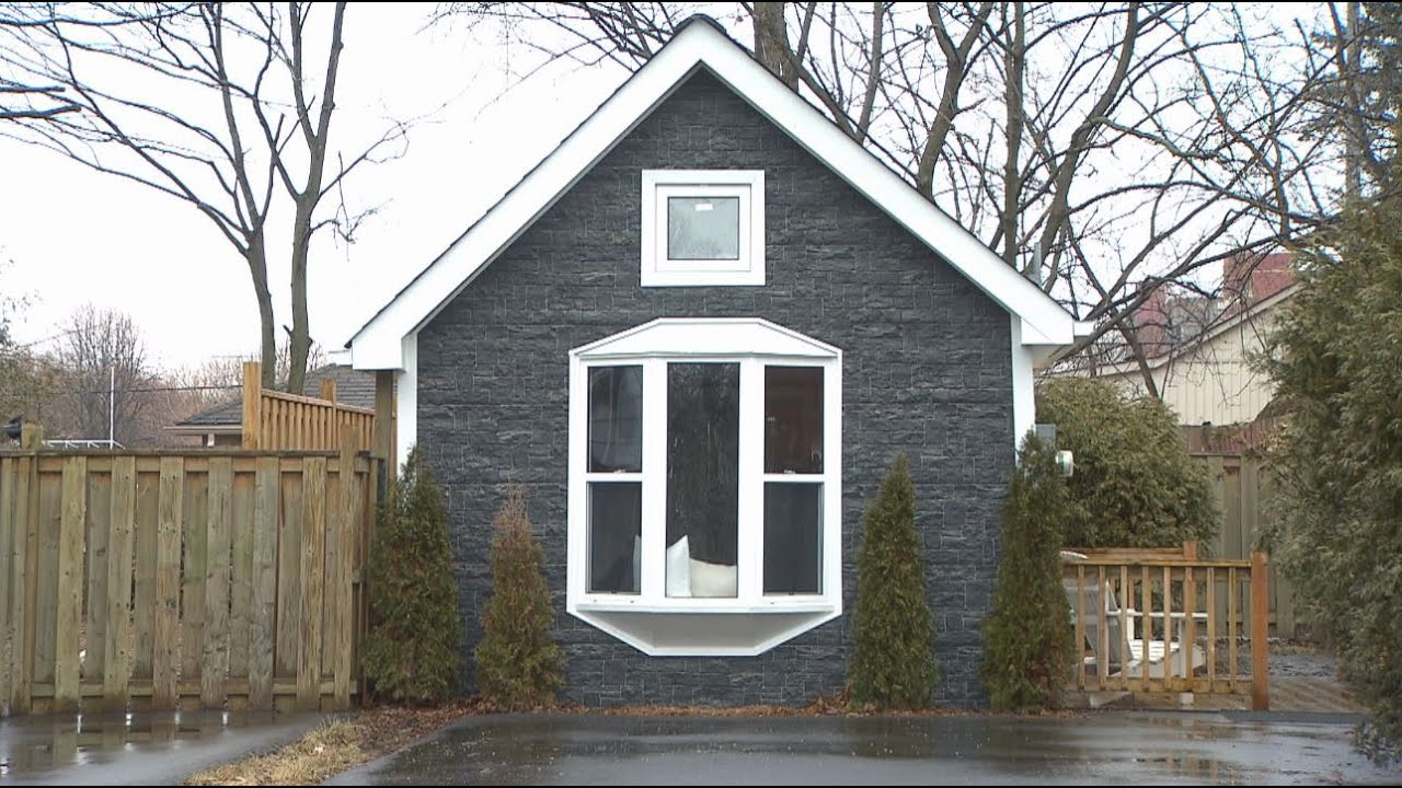 Take a peek inside the tiny house that sold for $29,29 in the Greater  Toronto Area