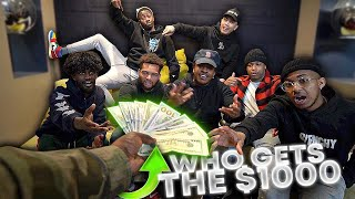 7 Friends Decide Who Wins $1000 . . .