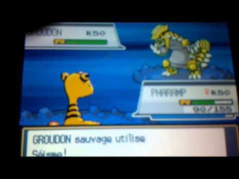 #2 Groudon shiney après 888 re's - Messagerie orange bonjour ^^ ! -