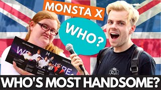 Londoners choose most handsome member of MONSTA X...