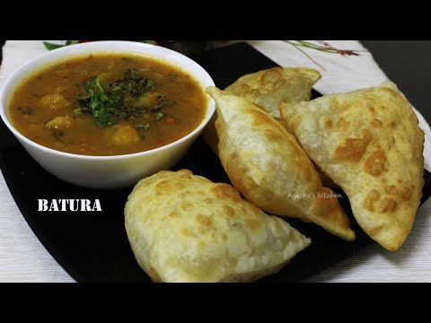 ചപ്പാത്തിയും പൂരിയും കഴിച്ചു മടുത്തോ / Bhatura Recipe /How To Make Perfect Batura/Ayesha's Kitchen