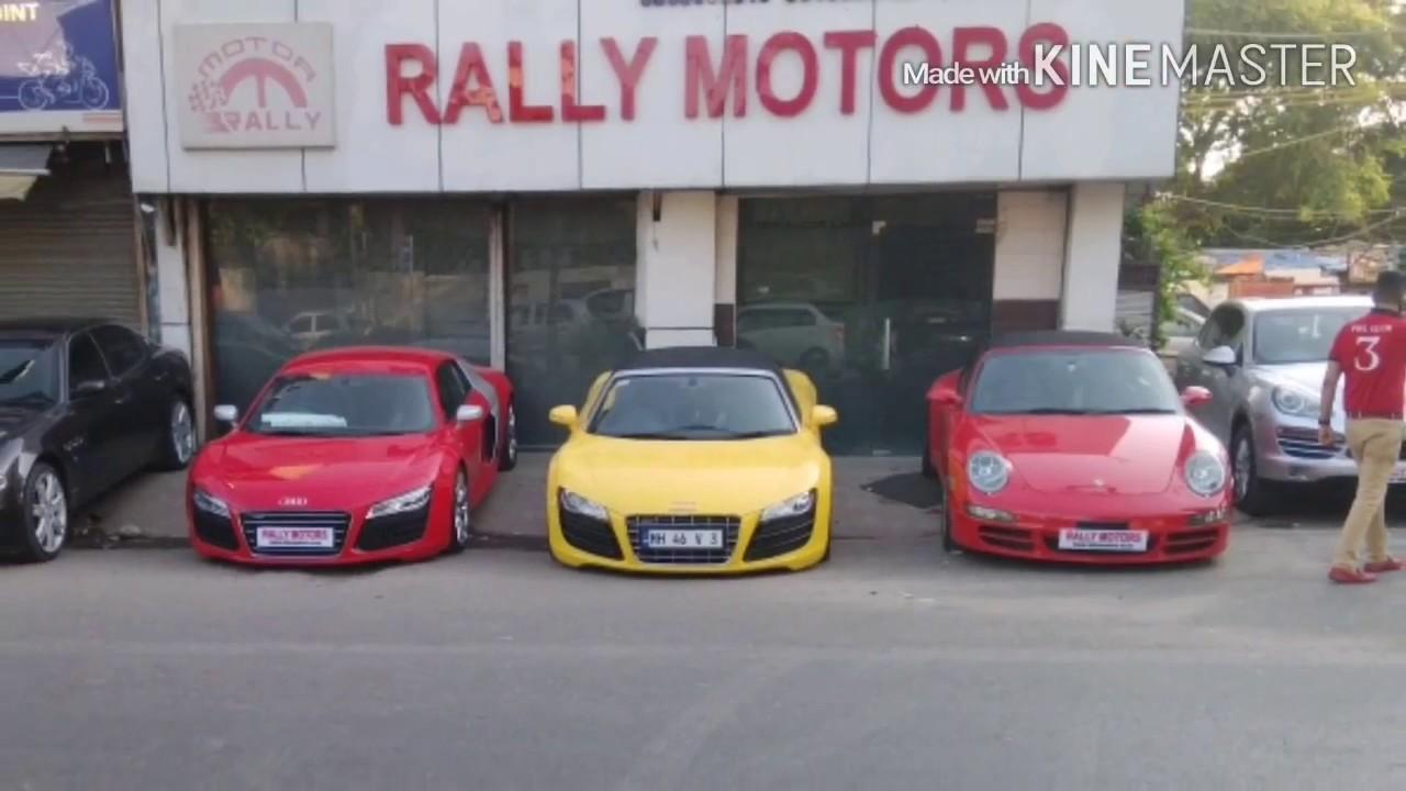 Rally motors super car club of delhi for H and r auto motors