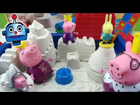 Super Sand Make a Sand Castle with Peppa Pig
