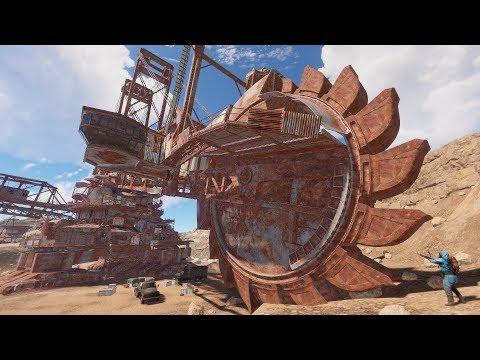 Rust - Гигантский экскаватор! ТОННЫ ресурсов!