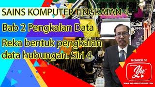 Sains Komputer Tingkatan 4 Pengkalan Data Bahagian 4
