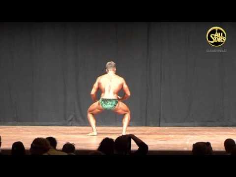 DM 2009,  Junioren II,  über 75 kg,  Kür Heinle  Benjamin