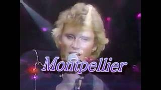 Johnny Hallyday Palais des sports 1982   Chante Montpellier
