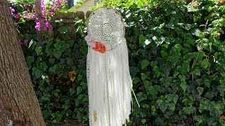 Bohemian Dreamcatcher & Glitter Feather Mobile ♥ DIY