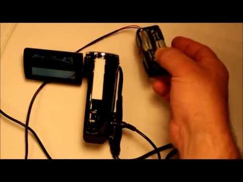 How To Make An External  Battery Pack For Your Video  Camera