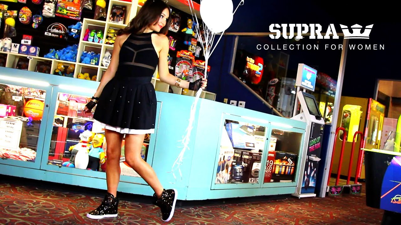 The SUPRA Footwear Collection for Women - YouTube 14ec9f8eec