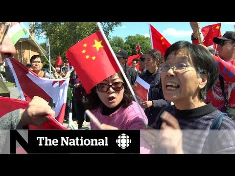 Tensions In Hong Kong Spread To Canada