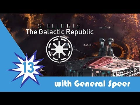 Stellaris The Galactic Republic Episode 13: Fixing the Energy Crisis!