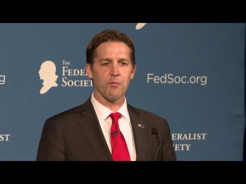 Ben Sasse Delivers the Federalist Society