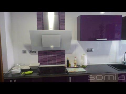 Diseño de cocinas en Valencia. Proyecto 3D con imágenes. Muebles ...
