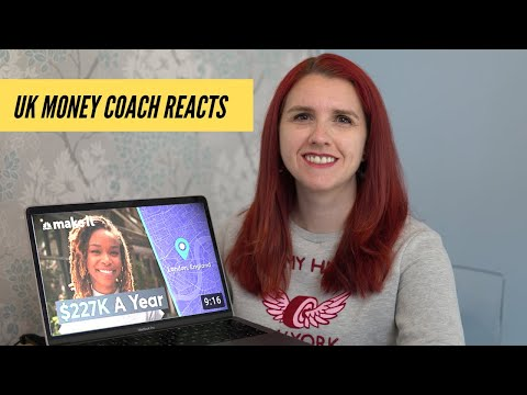 UK MONEY COACH REACTS Living On $227K A Year In London, England | Millennial Money