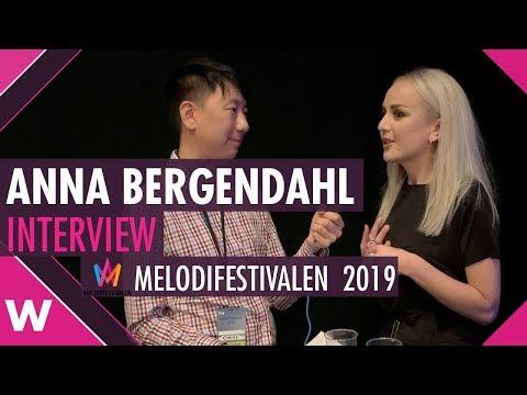 "Anna Bergendahl ""Ashes To Ashes"" Interview @ Melodifestivalen 2019 | wiwibloggs"