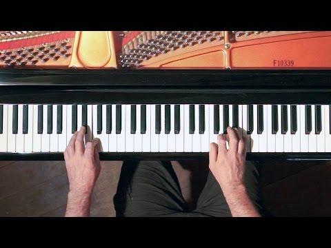 "Swing Rhythm Jazz Piano Tutorial ""Jordu"" - P. Barton, piano"