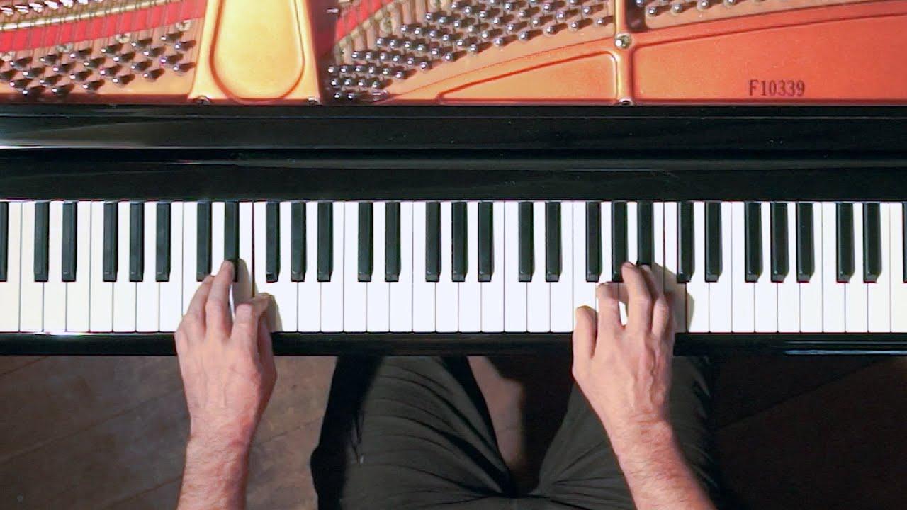 Swing Rhythm Jazz Piano Tutorial