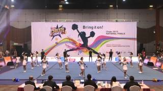 CHEER 2015: Stompers routine