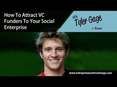 Tyler Gage of Runa Amazon Guayusa - How To Attract VC Funders ...