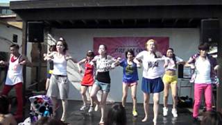 K-POP BEACH PARTY  extra show 1  KNSD関東連合 / Bang! 20110814