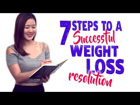 7 Steps to a Successful Weight Loss Resolution   Joanna Soh
