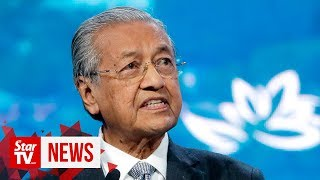 Dr Mahathir speaks at Eastern Economic Forum plenary session