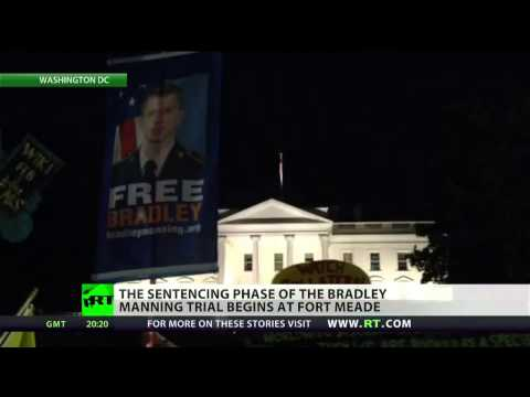 Assange calls Manning's conviction 'national security extremism'