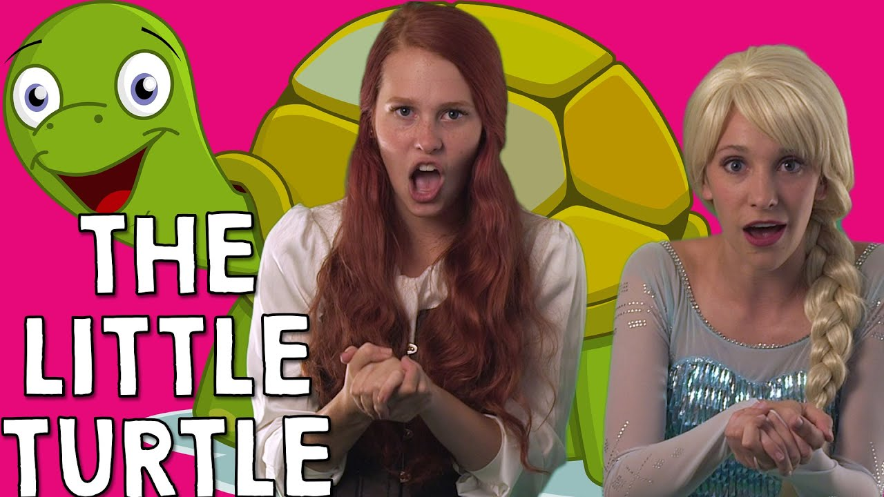 There Was A Little Turtle Who Lived In A Box Preschool Nursery Rhyme Sing A Long Youtube