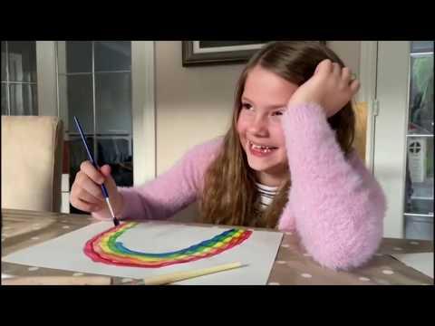 Covid 19 Rainbow of Hope - Natasha Hemmings