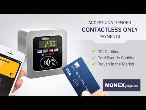 MONEXgroup's Contactless Only Self Serve Payments Solution for Unattended Vending & Kiosks