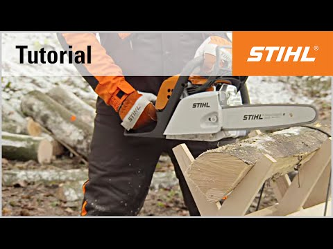 Sawing your own firewood with a chainsaw | STIHL Blog