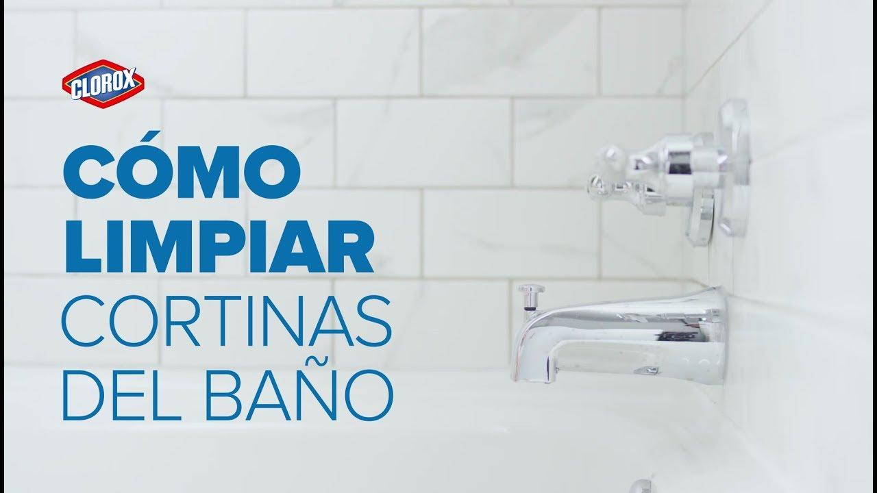 Clorox® Te Enseña: Cómo limpiar las cortinas del baño - YouTube