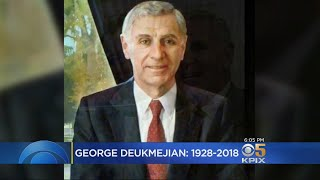 Former California Governor George Deukmejian Diest At Age 89