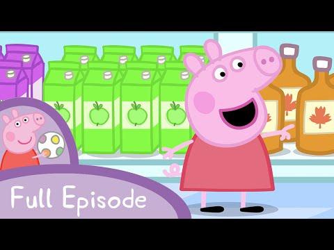 Peppa Pig - Shopping (full episode)
