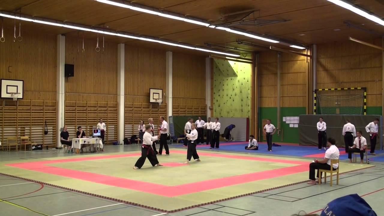 Yput Youtube: European Taido Championship 2015: Philip Högberg Vs. Jukka