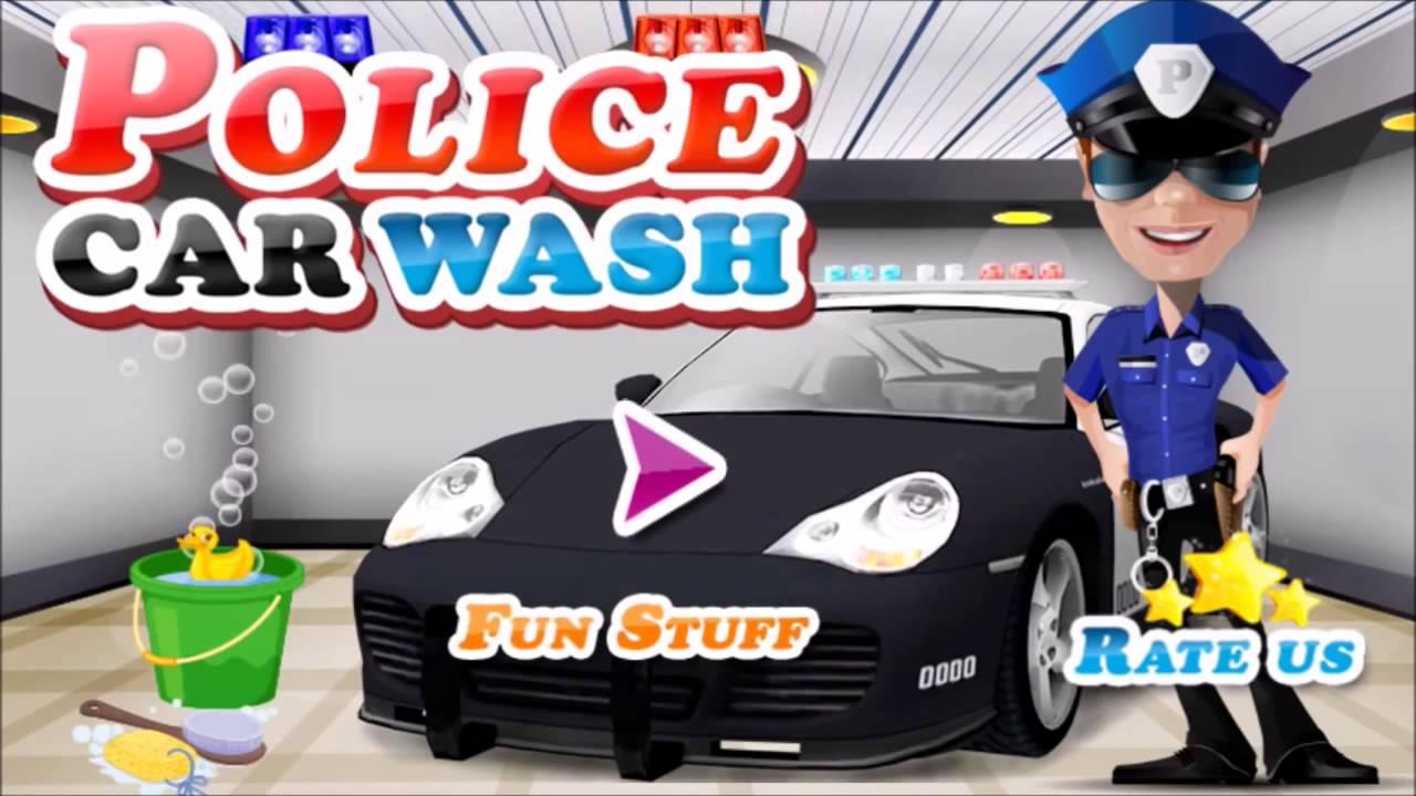 Yput Youtube: Мультфильм про полицейскую машинку, мойка, погони
